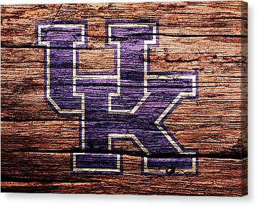The Kentucky Wildcats 1b Canvas Print by Brian Reaves