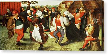 Bruegel Canvas Print - The Kermesse by Pieter Balten