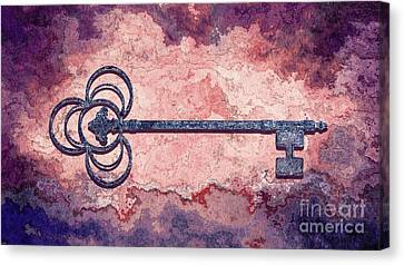 The Key - 01at-c02 Canvas Print by Variance Collections