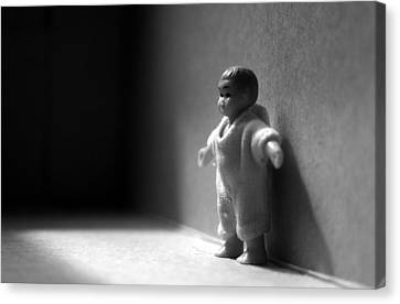 The Kid Canvas Print by Dan Holm