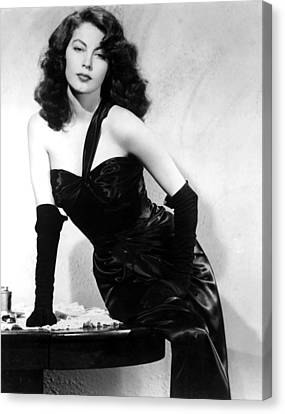 The Killers, Ava Gardner, 1946 Canvas Print