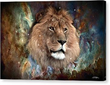 The King Canvas Print by Bill Stephens