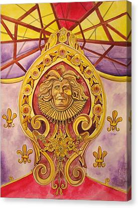 The King Of The Carousel Canvas Print