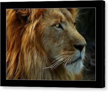 The King Canvas Print by Ricky Barnard