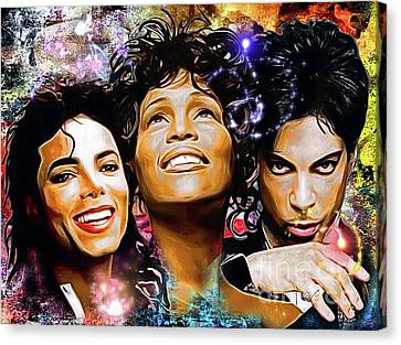 The King, The Queen And The Prince Canvas Print