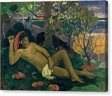 The Kings Wife Canvas Print by Paul Gauguin