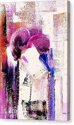 The Kiss Canvas Print by VIVA Anderson