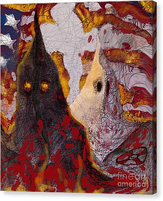 The Klan Canvas Print