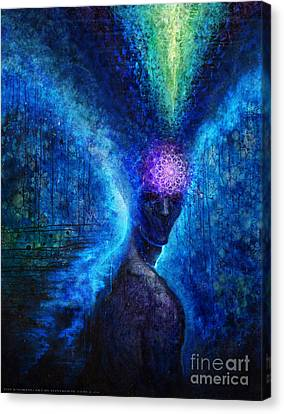The Knowing Canvas Print by Tony Koehl