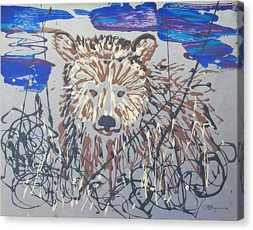 The Kodiak Canvas Print