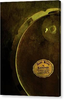 The Konvalinka Music Box Canvas Print by Rebecca Sherman