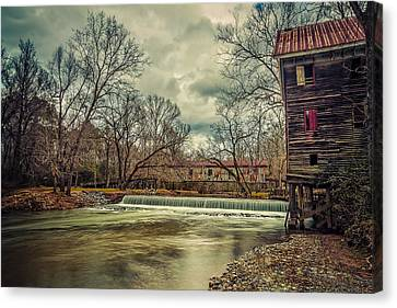 The Kymulga Mill Canvas Print by Phillip Burrow