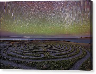 The Labyrinth And The Universe Canvas Print by Todd Kawasaki