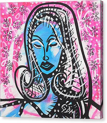 The Lady Waits Canvas Print