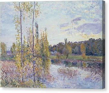 The Lake At Chevreuil Canvas Print