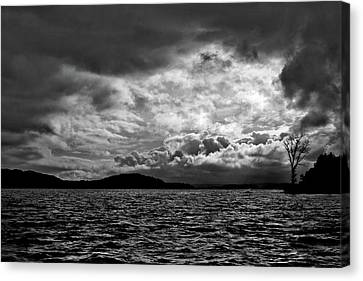 The Lake Canvas Print by John K Sampson
