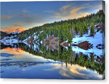 Fort Collins Canvas Print - The Lakes by Scott Mahon