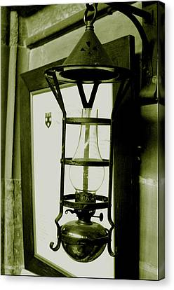 Canvas Print featuring the photograph The Lamp by Jez C Self