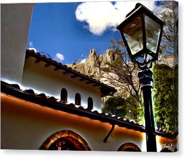 The Lamp Post Canvas Print by Francisco Colon