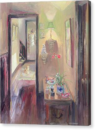 The Lamp Canvas Print
