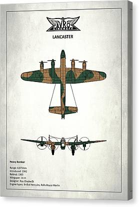 The Lancaster Canvas Print by Mark Rogan