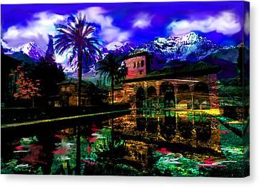 The Land Of Secrets  Canvas Print