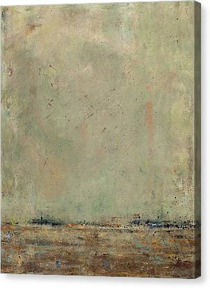 Abstact Landscapes Canvas Print - The Landscape by Frances Marino