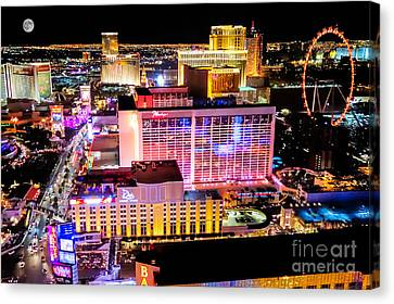 The Las Vegas Strip North Canvas Print