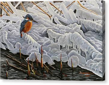 The Last Burst Of Winter Canvas Print