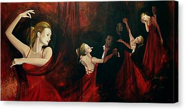 The Last Dance Canvas Print by Dorina  Costras