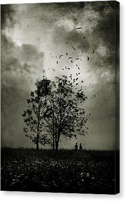Gloomy Canvas Print - The Last Day by Cambion Art