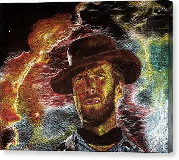 The Last Gunslinger Canvas Print