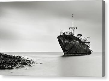 Lanzarote Canvas Print - The Last Journey by Inigo Barandiaran