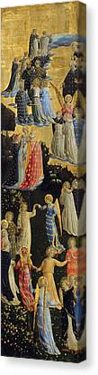 The Last Judgement, Left Wing Canvas Print by Fra Angelico