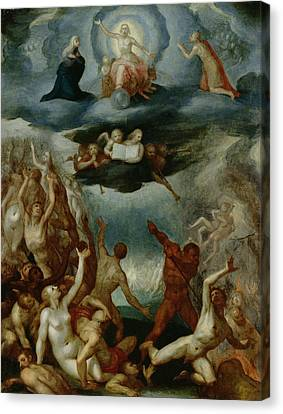 The Last Judgement  Canvas Print by Martin Pepyn