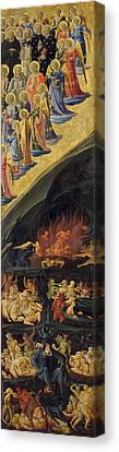 The Last Judgement, Right Wing Canvas Print by Fra Angelico