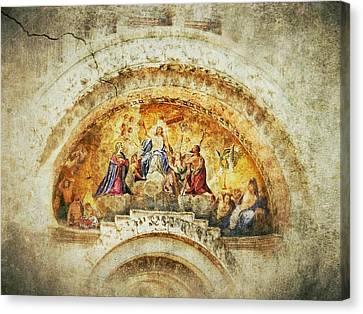 Venice - Byzantine Art Canvas Print