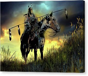 The Last Ride Canvas Print