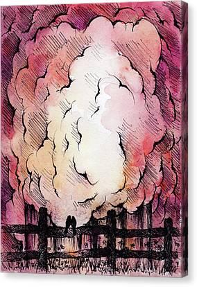 The Last Straw Canvas Print by Rachel Christine Nowicki