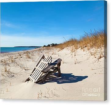 The Last Summer Canvas Print by Michelle Wiarda
