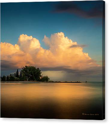 The Last Summer Storm Canvas Print by Marvin Spates