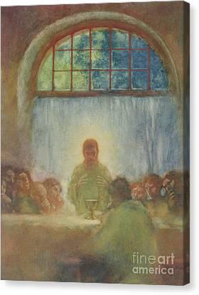 The Last Supper, 1897 Canvas Print by Gaston de La Touche