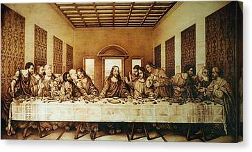 The Last Supper Canvas Print by Dino Muradian