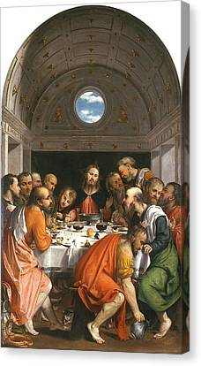 The Last Supper Canvas Print by Celestial Images