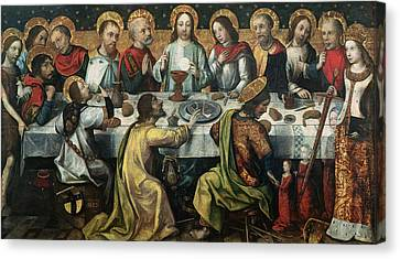 Communion Canvas Print - The Last Supper by Godefroy
