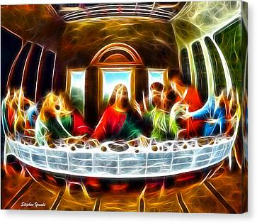 The Last Supper Canvas Print by Stephen Younts