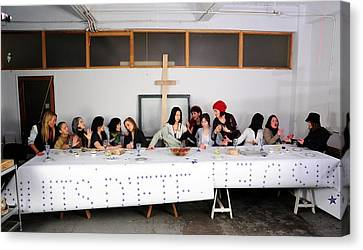 The Last Supper1 Canvas Print by Tom Callan