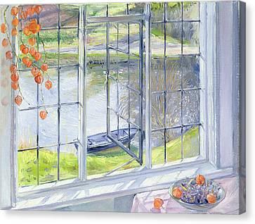 The Lavender Bowl Canvas Print