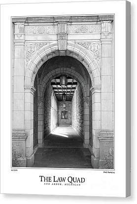 The Law Quad Canvas Print by Phil Perkins
