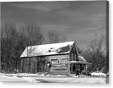 The Layton Country Store Canvas Print by Nicki McManus